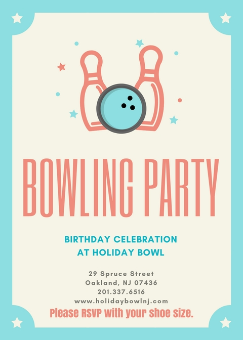 Birthday Parties, Corporate events, at the Holiday Bowl - Bergen County, North Jersey Bowling Alleys