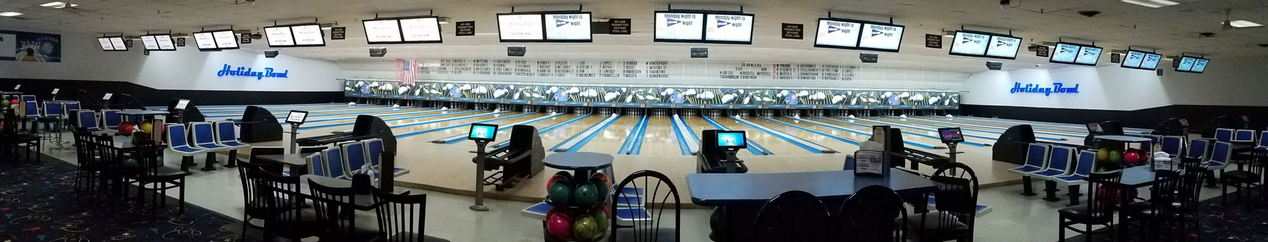 Holiday Bowl NJ Bowling alleys